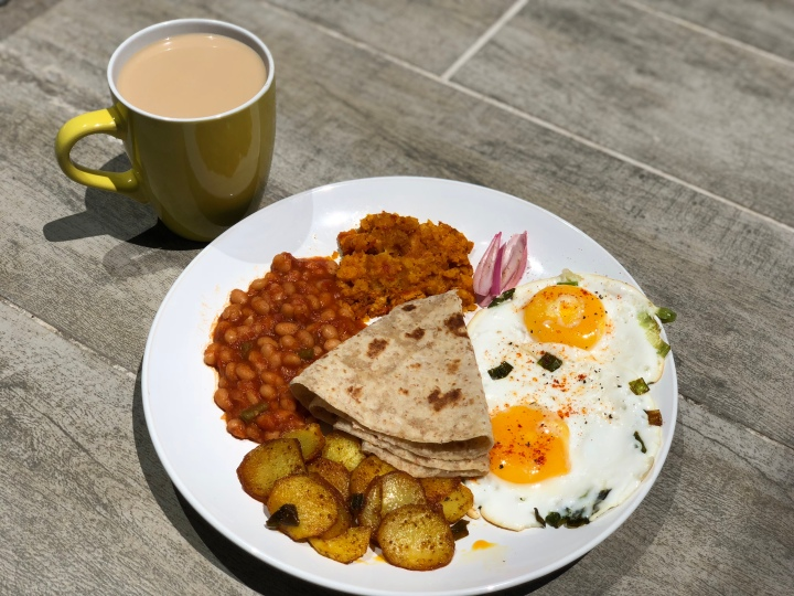 In Or Out: Full Indian Breakfast